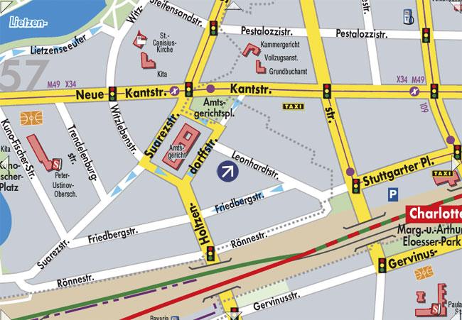 Karte Leonhardt Straße 18